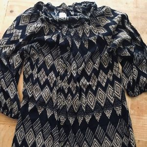 Anthropologie Dresses - Anthro Edme & Esylite Rugged Carats Shirtdress